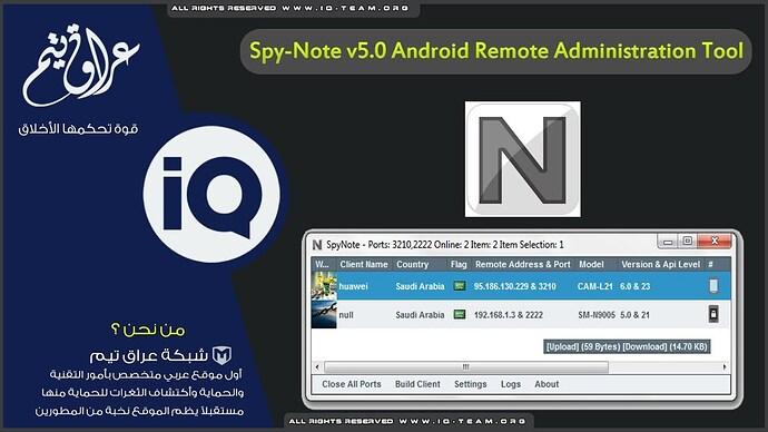 SpyNote all Versions (v2-v5) - Android & iOS - ENCRYPTBD | FORUM