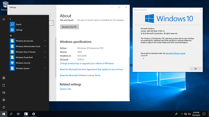 Windows 10 Enterprise 2019 LTSC + Activator (UPDATED+